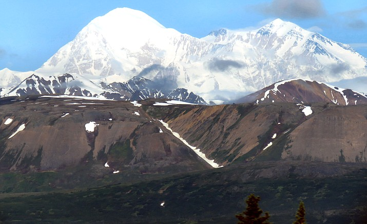 Denali Mountain, the tallest peak in North America at 20,310 feet above sea level. Melissa Bowersock