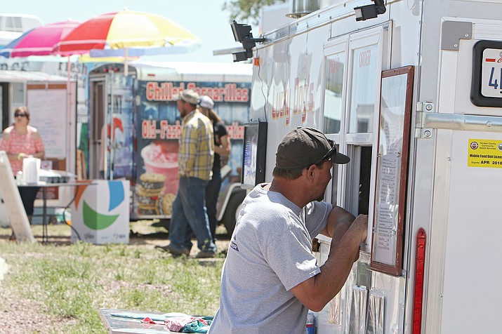 File photo from Chino Valley Chamber of Commerce Food Truck Festival in spring of 2017. (Town of Chino Valley/Courtesy, file)