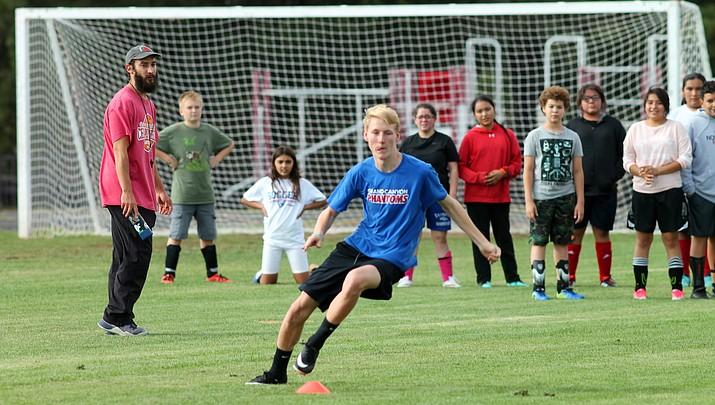 Photo highlights: Grand Canyon Phantoms soccer teams set to kick off the season