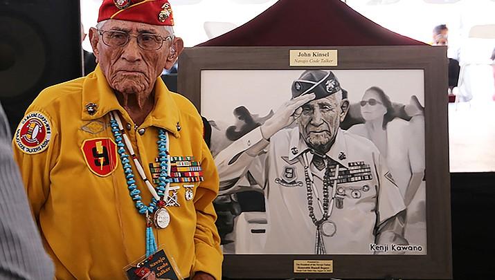 Honoring Navajo Code Talkers