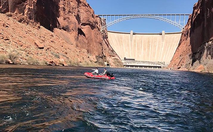 Environmentalist have opposed Glen Canyon Dam since the water-storage and hydroelectric project was proposed in the 1940s. (Photo by Cronkite News)