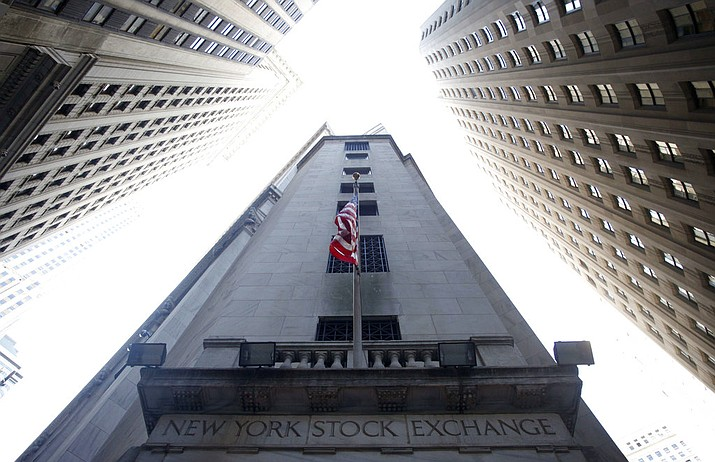 This Aug. 27, 2010, file photo shows the New York Stock Exchange. The U.S. stock market opens at 9:30 a.m. EDT on Friday, Aug. 24, 2018. (AP Photo/Mark Lennihan)