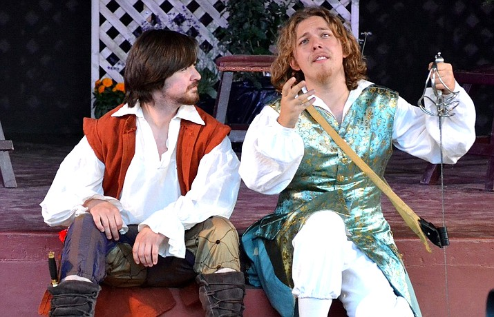 This is Laark Productions' fifth season producing Shakespeare in multiple locations and the third year they have performed live at Yavapai College's Verde Valley Campus. The troupe performed Twelfth Night last June at the Highlands Center for Natural History in Prescott.