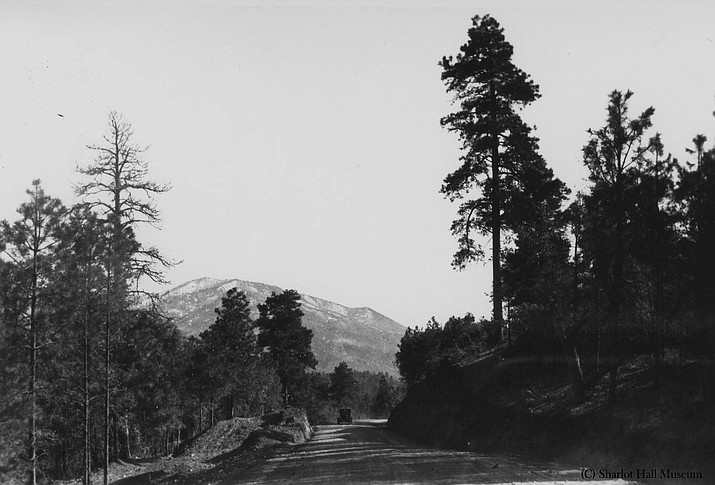 Bill Williams Mountain, c. 1930s. (Courtesy Sharlot Hall Museum, call number 1250.0366.0000.)