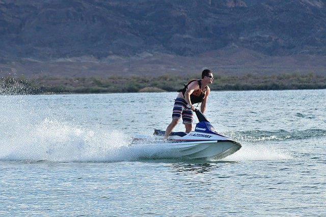 Recreational activities opportunities on BLM public land include water sports or off-highway vehicle adventures. (Photo courtesy of BLM)