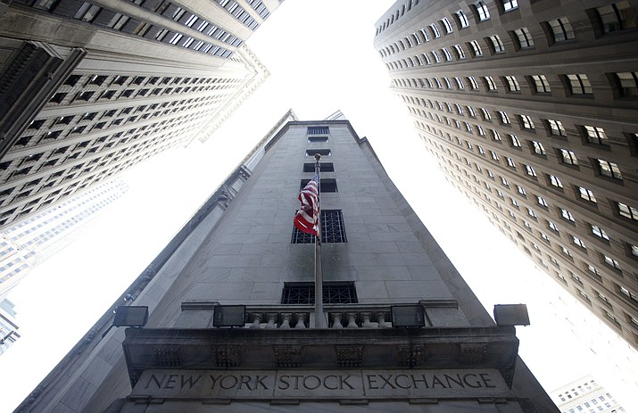 This Aug. 27, 2010 photo shows the New York Stock Exchange. (Mark Lennihan/AP, file)