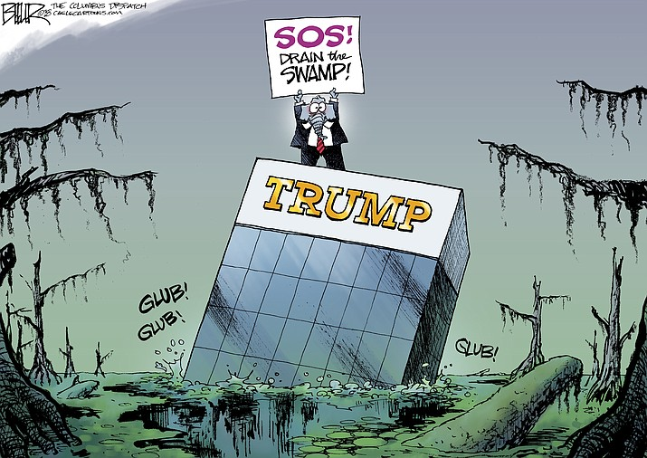 Editorial cartoon (2): August 28, 2018