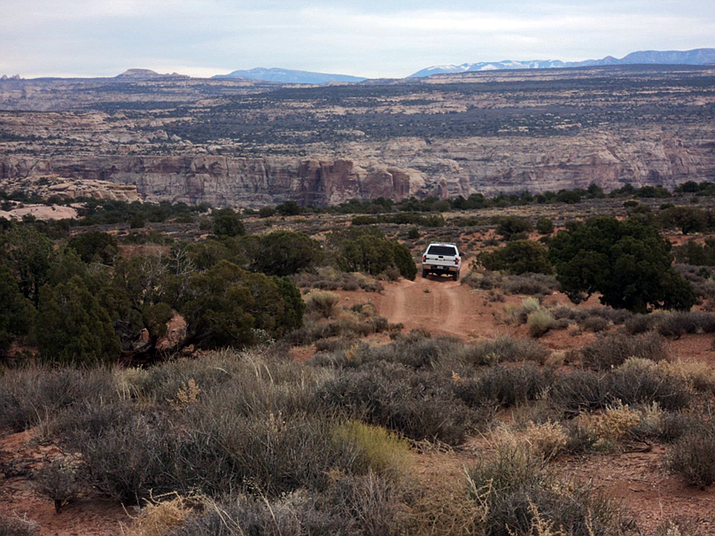 Glen Canyon National Recreation Area is set to allow more off-road vehicle traffic in the future. (Photo/NPS)