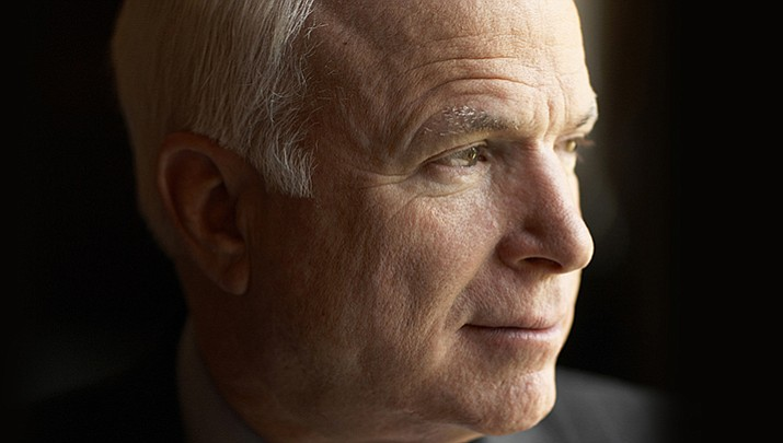 """""""I've often observed that I am the luckiest person on Earth. I feel that way even now as I prepare for the end of my life. I've loved my life, all of it."""" — Senator John McCain"""
