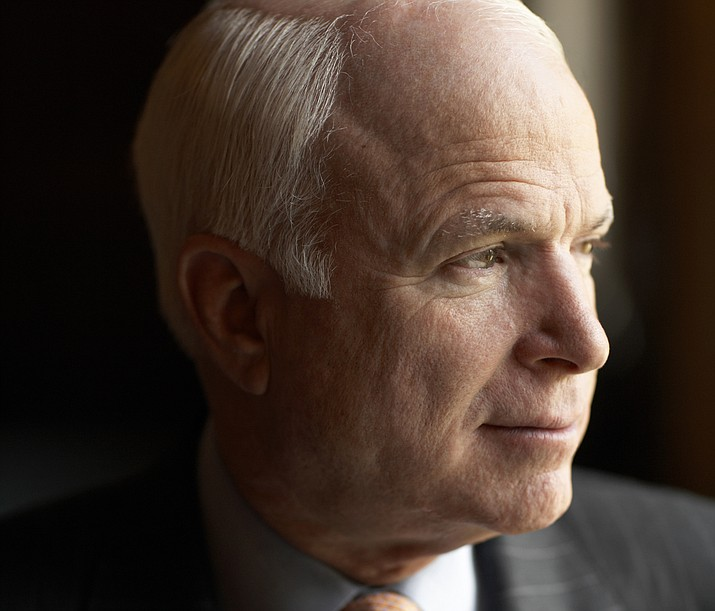 Besides the proposal to rename the Russell Senate Office building, lawmakers may consider naming a room used by the Senate Armed Services Committee after McCain, who was the panel's chairman. (JohnMccain.com photo)