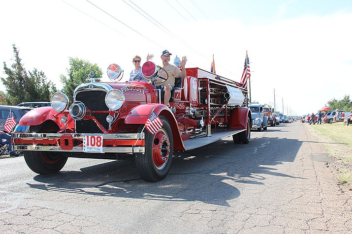 Territorial Days in Chino Valley on Sept. 2, 2017, consisted of the 31st annual parade – including 40 entries. (Max Efrein/Review, file)