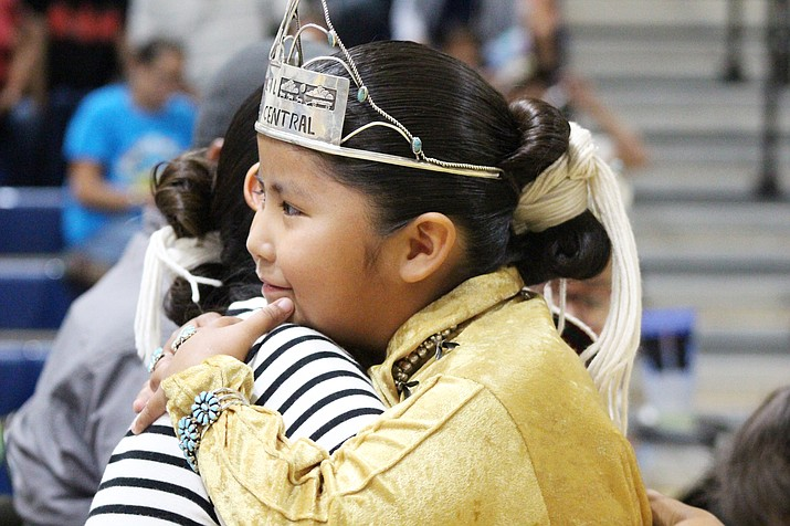 L'il Miss Central Navajo is crowned at the 33rd annual Central Agency Fair Aug. 20-26 in Chinle. (Photo courtesy of Ryan Fredrick Photography)