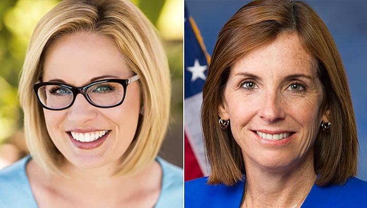 McSally, Sinema face each other in Arizona Senate debate