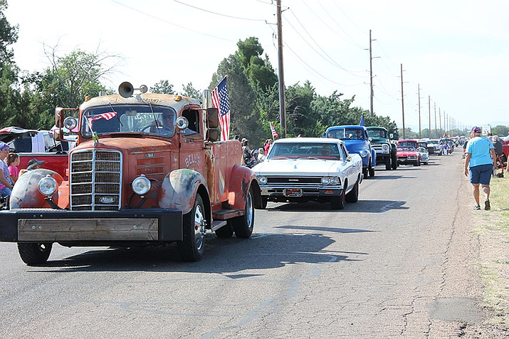 2017 Territorial Days in Chino Valley included the annual parade – in addition to the annual pancake breakfast, kids entertainment, and arts and crafts. (Max Efrein/Kudos, file)