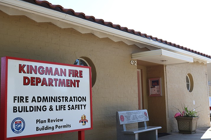 The Kingman Fire Department is using citizen input to help revise its five-year strategic plan. (Photo by Travis Rains/Daily Miner)