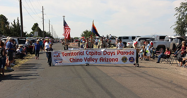 The usual highlight of Territorial Days in Chino Valley is the parade. This year's parade will be the 32nd annual and begins at 9:15 a.m. today, Sept. 1. (Max Efrein/Courier, file)