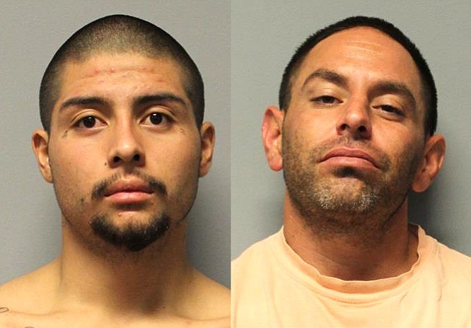 Gregory Hernandez (left) and Joshua Courtney. Photos courtesy YCSO