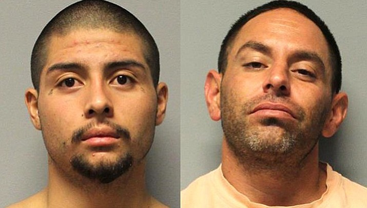 Gregory Hernandez, left, and Joshua Courtney. (YCSO/Courtesy)
