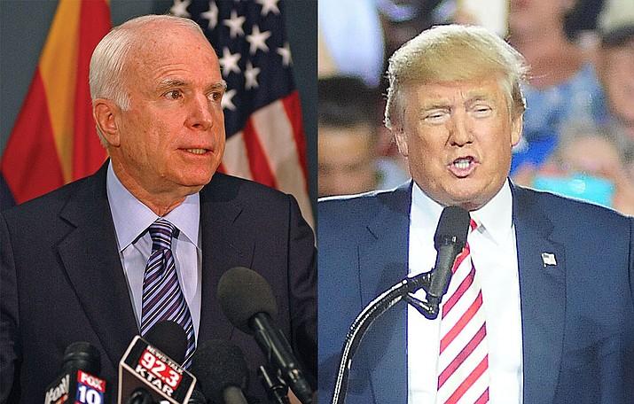 John McCain, Donald Tump