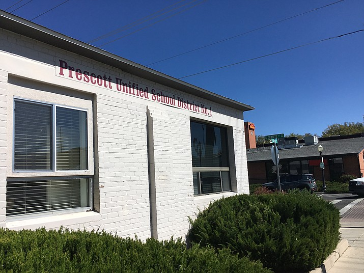 The former Prescott Unified School District office on South Granite Street (Courier, file)