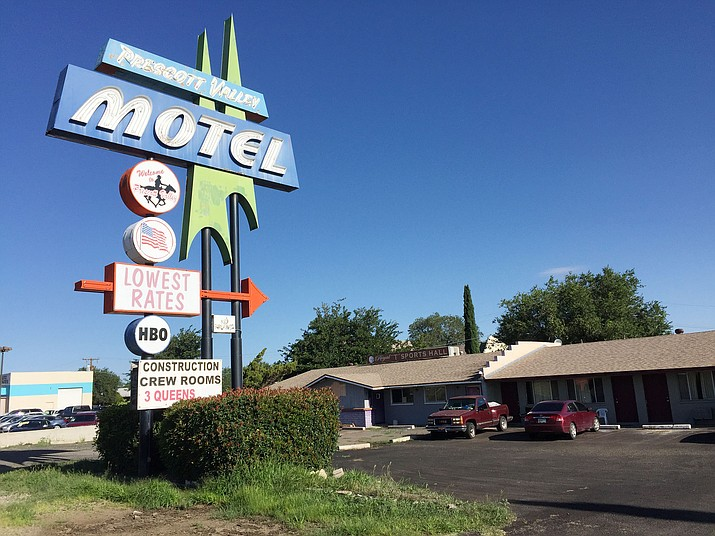 The Prescott Valley Motel, built in 1967, is slated to be torn down next year. (George Lurie/Courier)