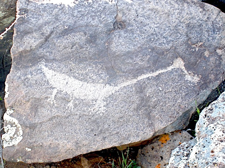 A petroglyph near Richinbar. (Nigel Reynolds/Courtesy)