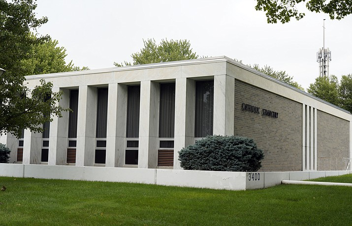 The Diocese of Lincoln, housed in the Catholic Chancery in Lincoln, Neb., which refused for years to participate in annual sex abuse audits, is facing a potential criminal investigation and criticism that it mishandled priests who were accused of sexual assault and morally questionable behavior. (Nati Harnik/AP Photo)