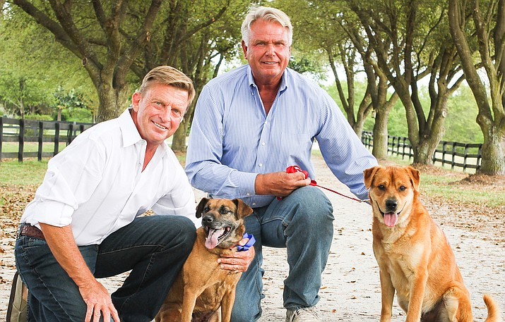"""Life in the Doghouse"" tells the inspiring life stories of Danny Robertshaw and Ron Danta and the remarkable work they do at Danny & Ron's Rescue. Ten years and 10,000 dogs later, their unique approach to life and dog rescue will capture hearts and inspire millions to make the right choices when it comes to man's best friend."