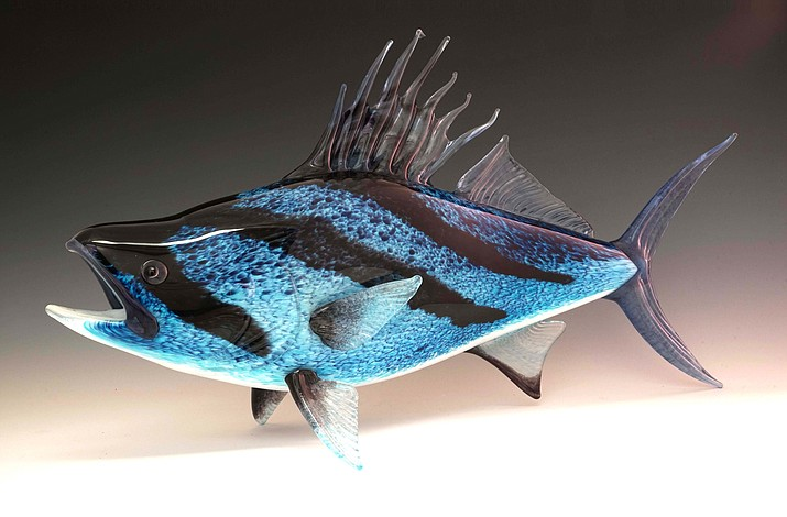 Rooster Fish by Michael Hopko