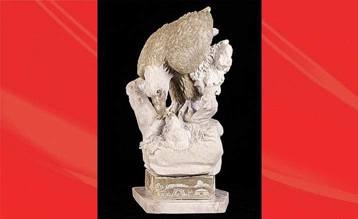 Hidden Beauty sculpture by Alvin Marshall