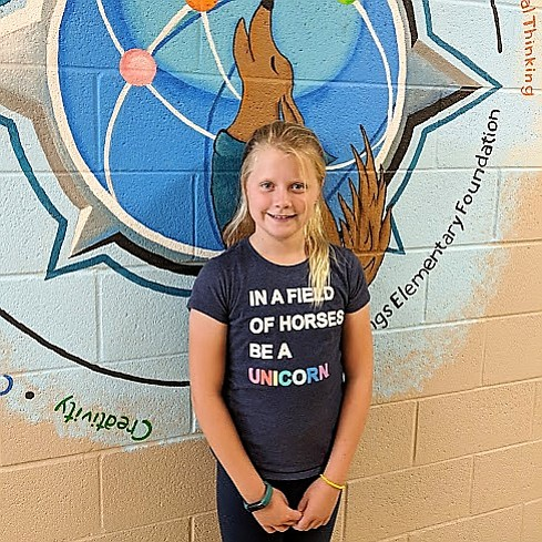 The Humboldt Unified School District Student of the Week is Chloe Zwak, a sixth grader from Coyote Springs Elementary. (HUSD/Courtesy)