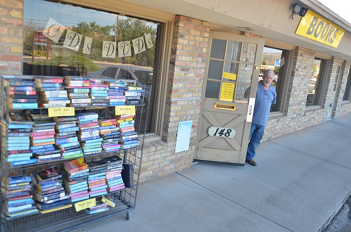 Larry Wolfe has moved his 45,000 books to 148 S. Main St., and has reopened his bookstore. Hooked on Books, at a new location. VVN/Vyto Starinskas