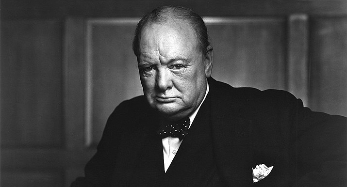 Concerning socialism, who should we believe - Sir Winston Churchill (pictured) or Hugo Chavez and Sean Penn? (Stock, file photo)