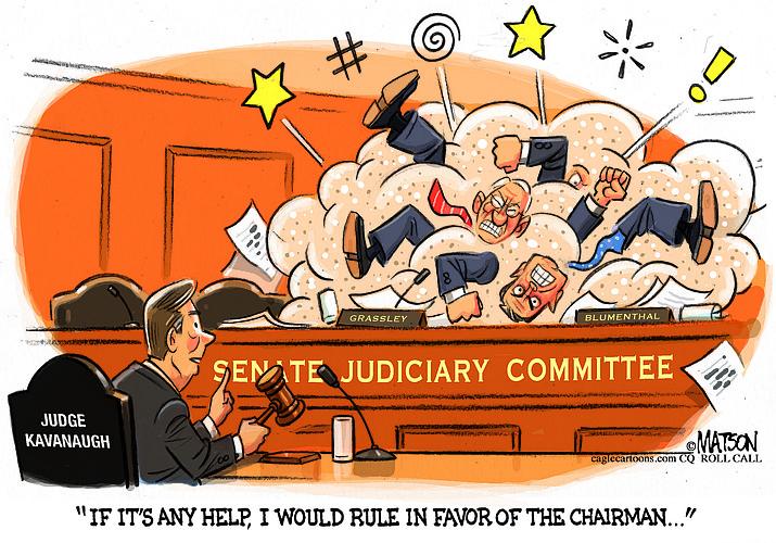 Editorial cartoon (1): Sept. 5, 2018