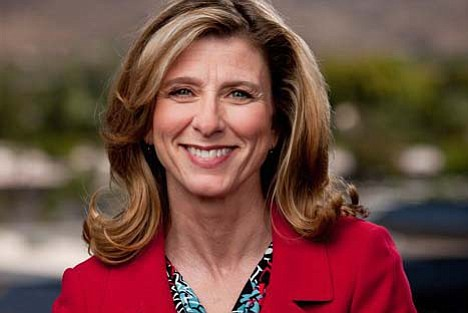 Chairwoman of the Arizona Democratic Party, Felicia Rottelini, will be attending the Mohave Democrats' open house at 11 a.m. Saturday at 212 N. Fifth St. (Courtesy photo)