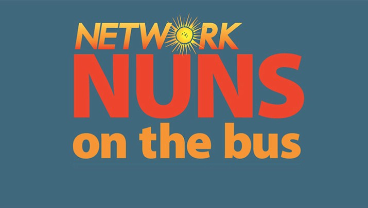 The Nuns on the Bus are at it again. They're doing another tour to raise awareness about the negative effects of the 2017 tax cut, which mostly benefited corporations and the top (wealthy), and the efforts to undo access to health care.