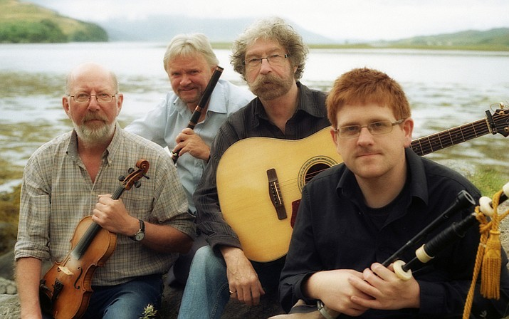 The Tannahill Weavers have been a group for 50 years performing tradtional Scottish music. (TannahillWeavers.com/Courtesy)