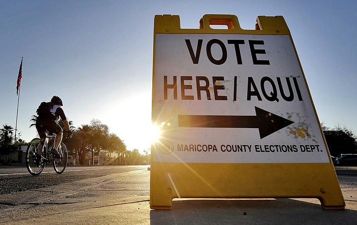 State election officials said a record-breaking number of Arizona voters cast ballots in the August 28, 2018 primary. More than 1.2 million people voted. The previous record was almost 1 million voters in 2010. (File photo by Matt York/Associated Press)