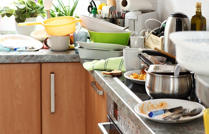 When Sister gets to cooking, there's no telling what the kitchen is going to look like when she's done. (Adobe Images)