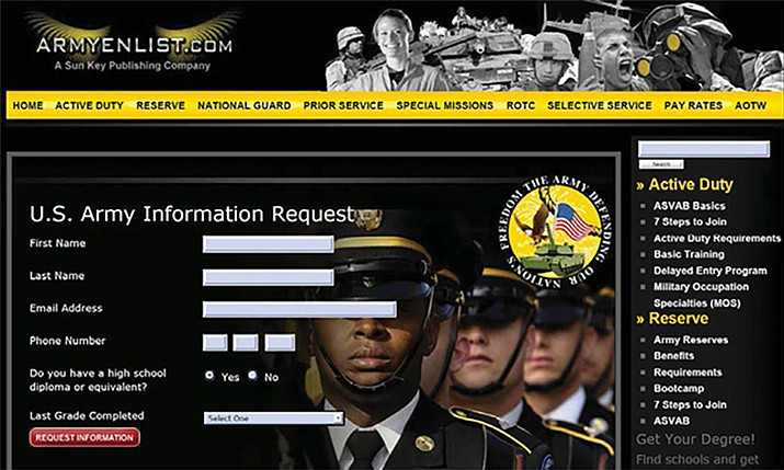 According to the FTC, the copycat military websites prompted consumers to submit their private information to learn more about joining the armed forces. The defendants allegedly sold the information to marketers at post-secondary schools for $15 to $40 per lead. Those consumers when then receive follow-up phone calls from telemarketers who continued the misrepresentations by posing as members of the military.