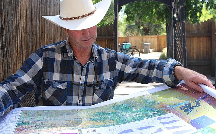 Developer Aaron Million wants to divert 55,000 acre-feet of water from the Green River in Utah to Colorado's Front Range. (Photo by Luke Runyon/KUNC)