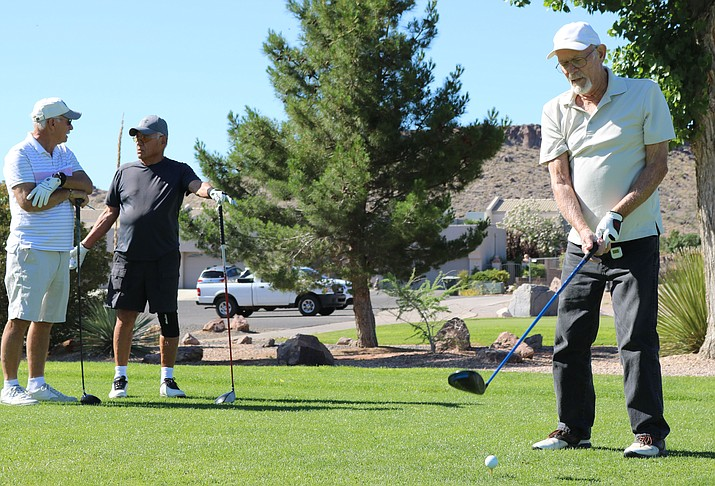 KRMC is hosting its 30th annual Charity Golf Tournament 7:30 a.m. Saturday, Sept. 15 at Cerbat Cliffs Golf Course. (Daily Miner file photo)