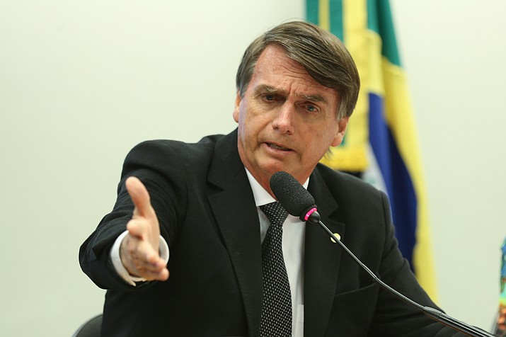 Jair Bolsonaro Brazilian presidential candidate was stabbed during a rally. (Photo by Fabio Rodrigues Pozzebom/Agência Brasil [CC BY 2.0  (https://creativecommons.org/licenses/by/2.0)], via Wikimedia Commons)