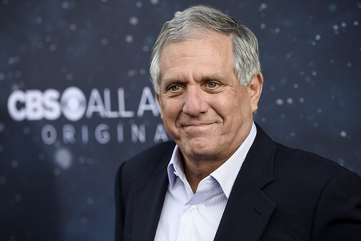 "Les Moonves, chairman and CEO of CBS Corporation, poses at the premiere of the new television series ""Star Trek: Discovery"" Sept. 19, 2017, in Los Angeles. On Sunday, Sept. 9, 2018, CBS said longtime CEO Les Moonves has resigned, just hours after more sexual harassment allegations involving the network's longtime leader surfaced. (Chris Pizzello/Invision/AP Photo File)"