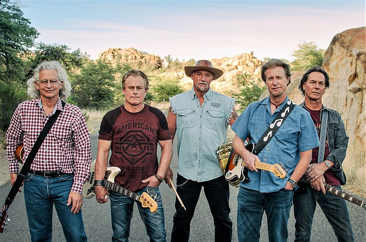 """Originating in Prescott, the """"South of Winslow"""" band is a collection of five talented and seasoned musicians that perform Eagles music exclusively. The band formed five years ago when five area musicians met and discovered their mutual love for the Eagles."""