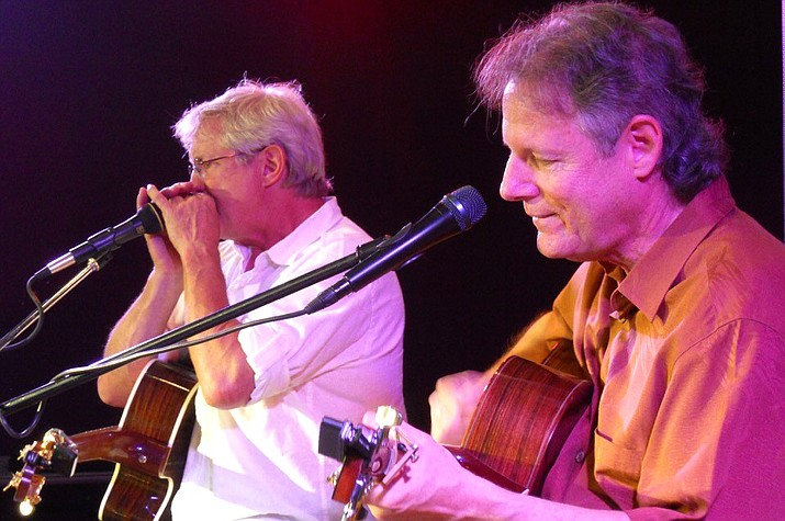 Saturday, Sept. 15, 7-10 p.m., Vino Di Sedona features Chris Seymour and Rick Cyge. Seymour & Cyge combine their unique individual talents that contrast and complement one another into a single collaborative sound, Seymour & Cyge.