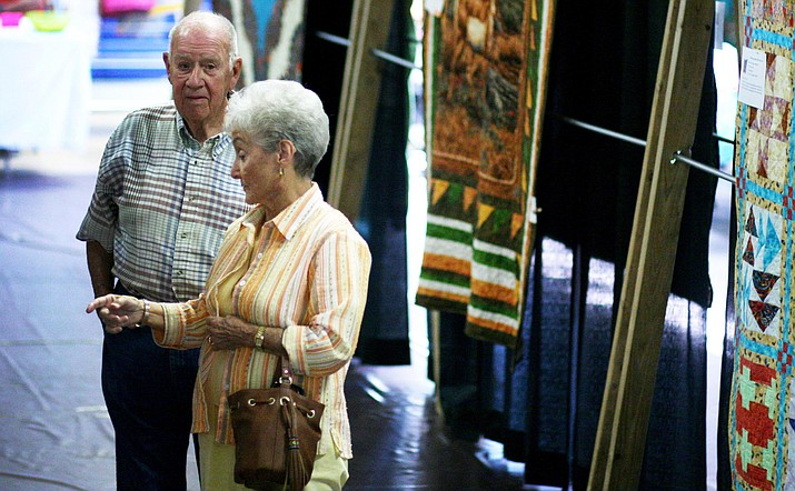 Every other year, the Camp Verde Quilters Group holds a quilt show at Fort Verde Days. This year, the show will take place from 9:30 a.m. until 4 p.m. Friday, Oct. 12 and Saturday, Oct. 13 in the Community Center gymnasium. VVN/ Bill Helm