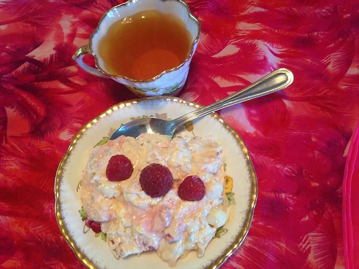 Raspberry Marshmallow Fluff. (Diane DeHamer/Courtesy)