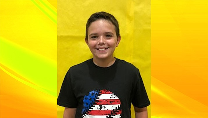 Logan Tyson is this week's Student of the Week for Humboldt Unified School District. (HUSD/Courtesy)