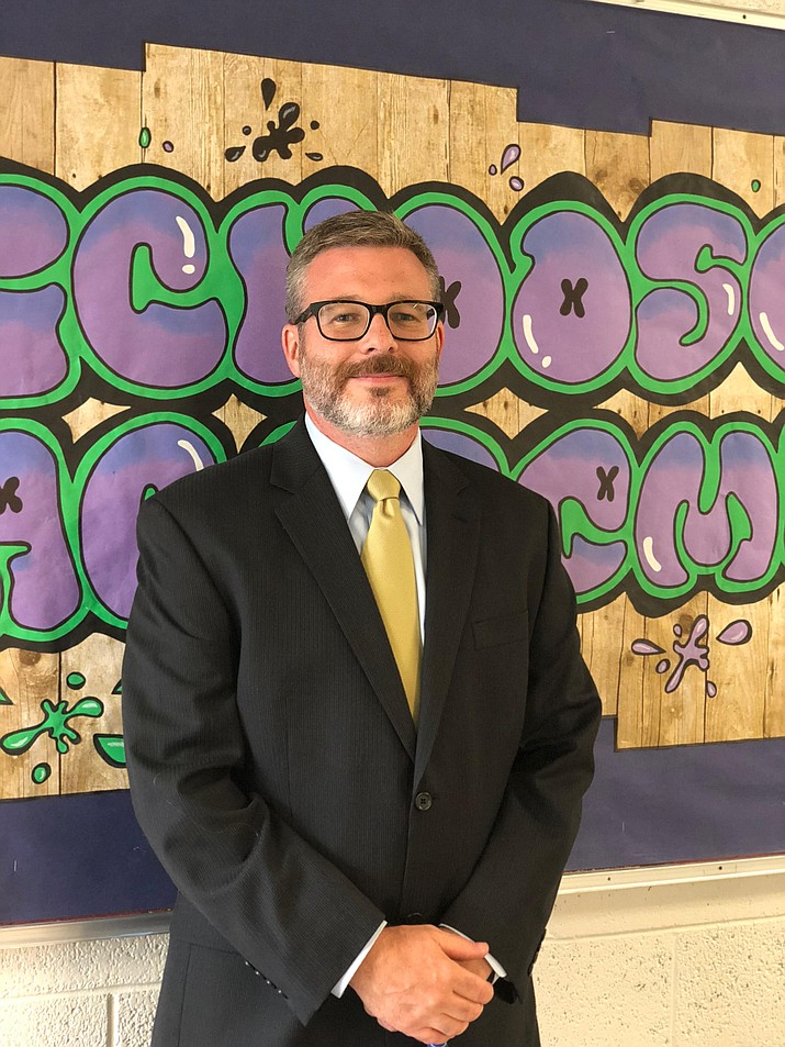 Mr. Jarred Maddox from Glassford Hill Middle School is the Teacher of the Month for August, in the Humboldt Unified School District. (HUSD/Courtesy)